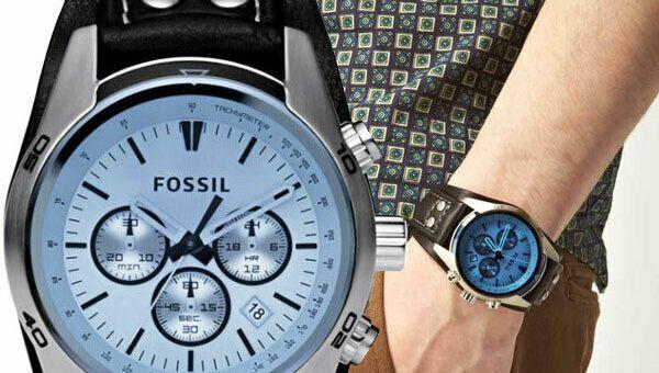 ch2564 reloj barato de fosil